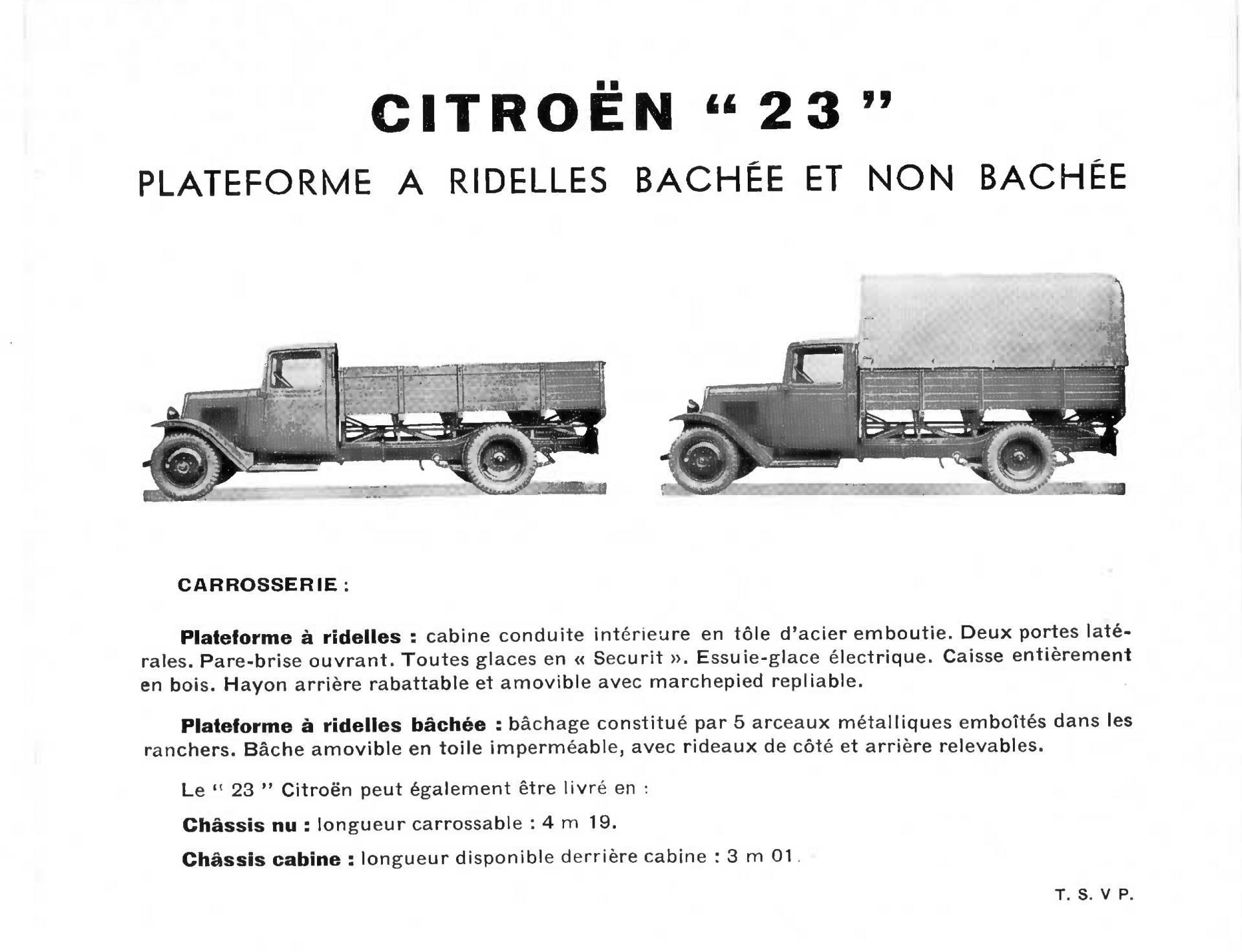 Document commercial Citroën