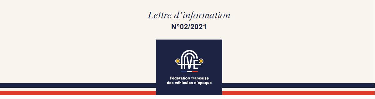 FFVE Lettre Info 02-2021