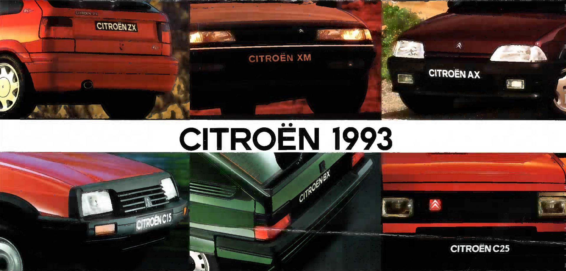 Image Gamme Citroën Année modèles 1993
