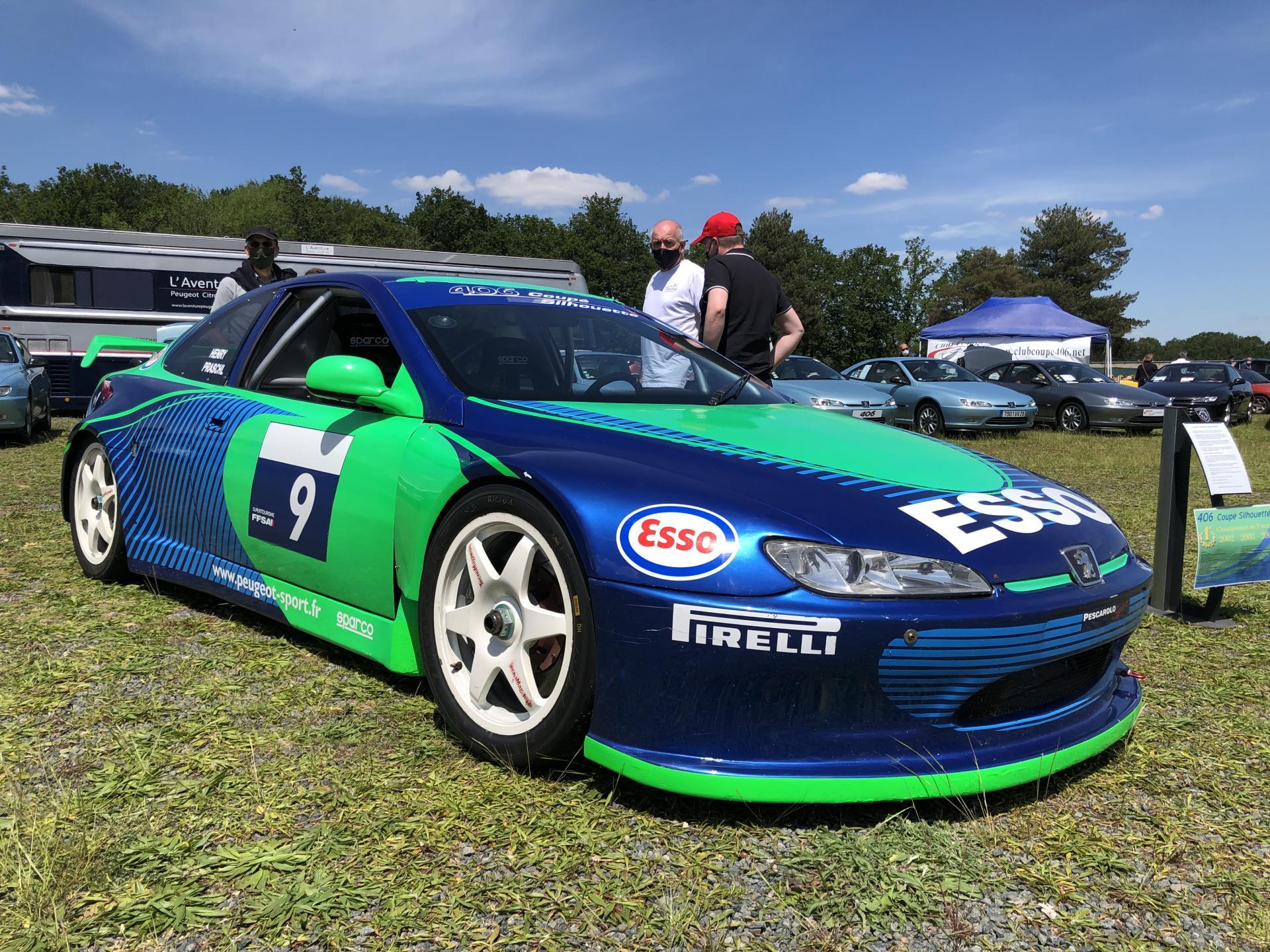 406 Coupé Silhouette Championne de France 2004