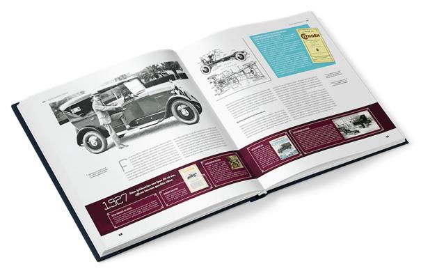Le grand livre du centenaire Citroën