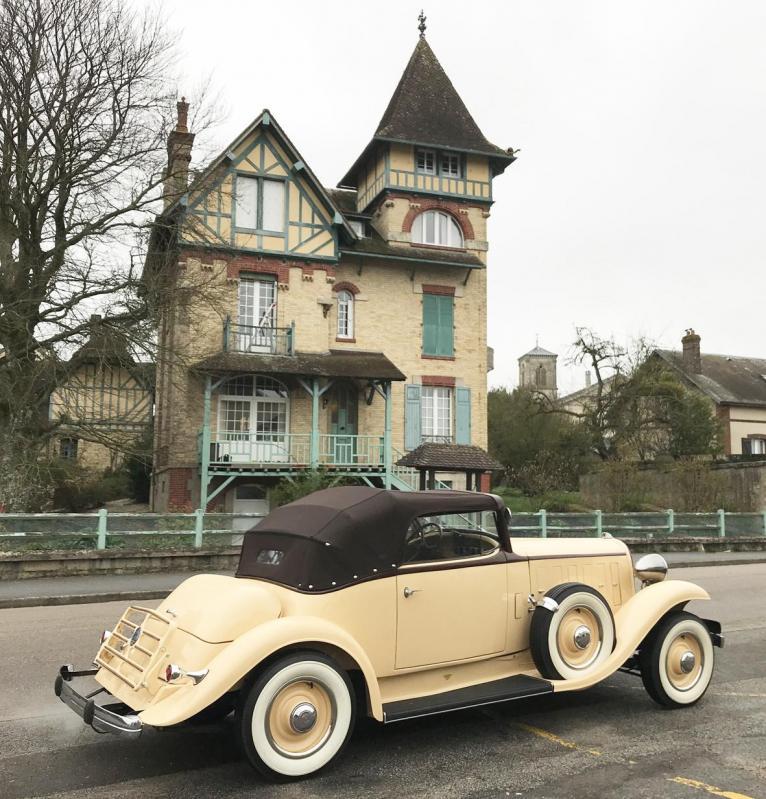 1933 Citroën Rosalie 15 Speedster