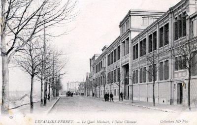 L'usine Clément Bayard de Levallois