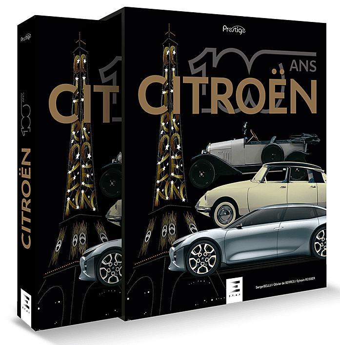 Livre 100 ans de Citroën
