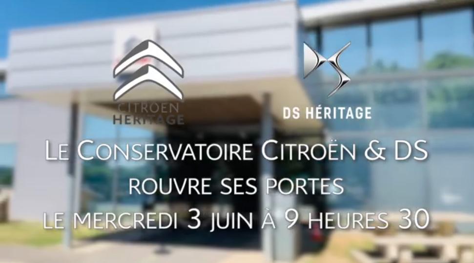 Ouverture Conservatoire Citroën & DS
