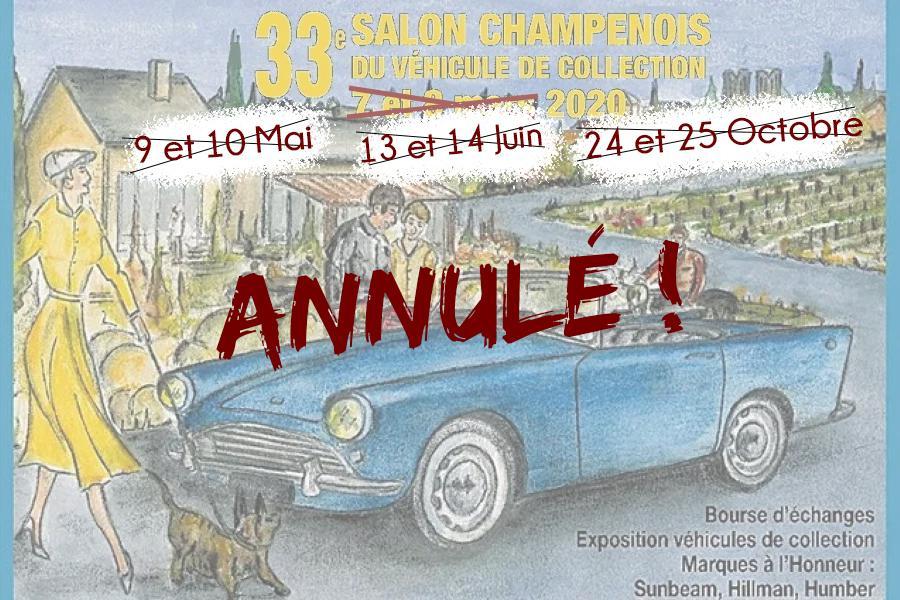 Salon de Reims annulé