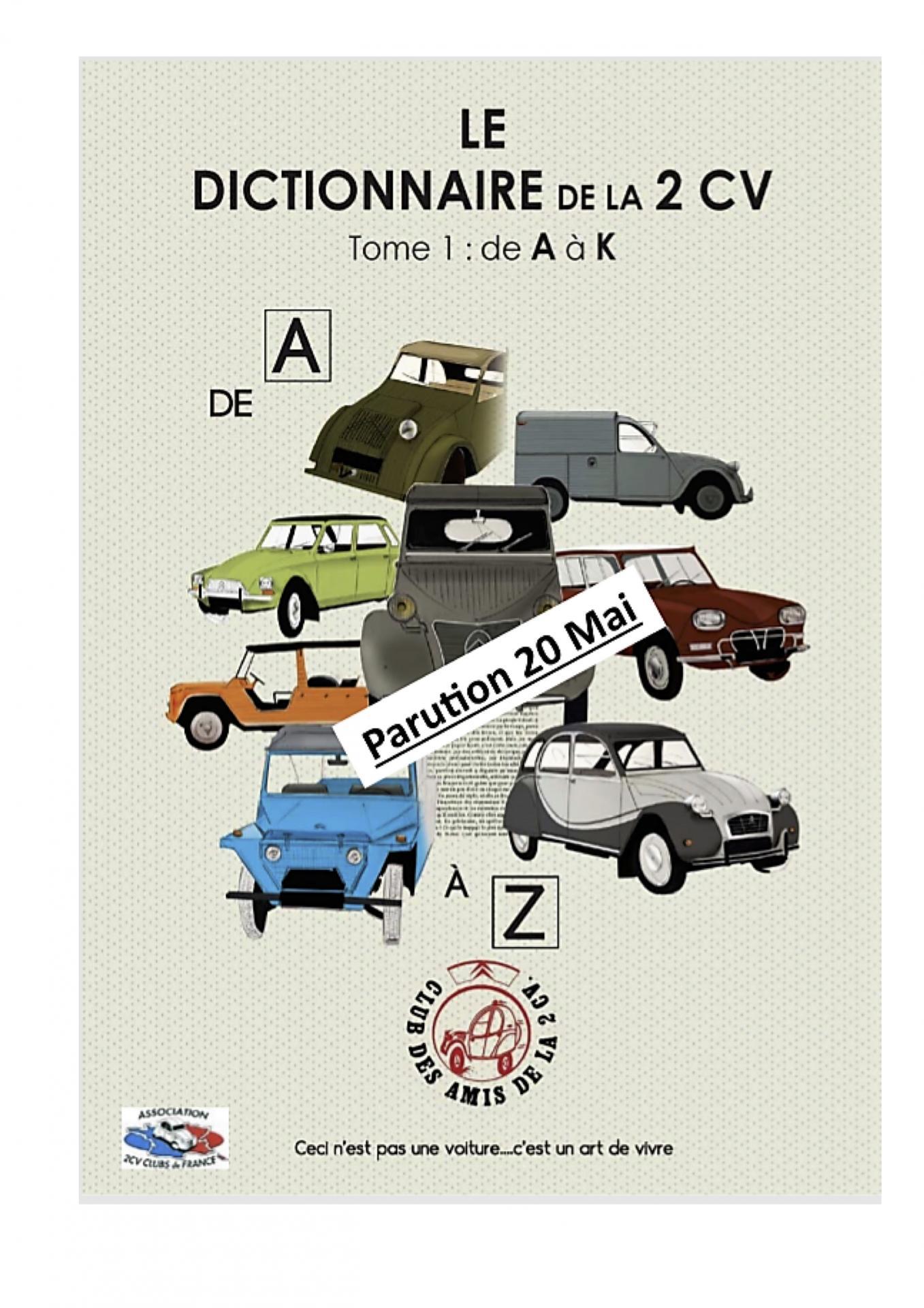 2020 Dictionnaire de la 2CV