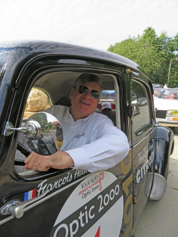 Xavier Crespin au Rallye du Coeur